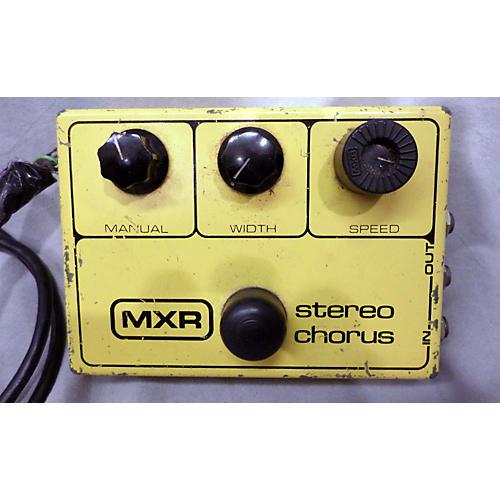 MXR STEREO CHORUS Effect Pedal-thumbnail