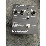 TC Electronic STEREO CHORUS + Effect Pedal