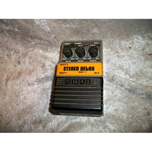 Arion STEREO DELAY SAD-1 Effect Pedal-thumbnail