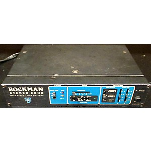 Pre-owned Rockman STEREO ECHO Effect Pedal by Rockman