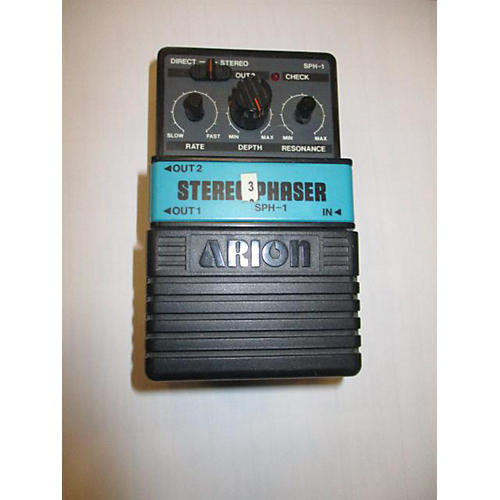 Arion STEREO PHASER Effect Pedal