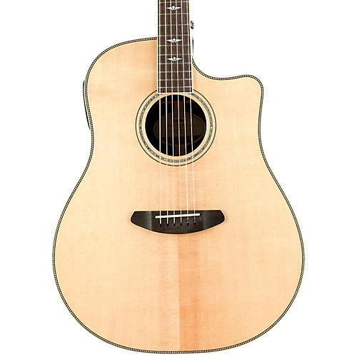 Breedlove STGCONC 2016 Stage Concert Acoustic-Electric Guitar Natural