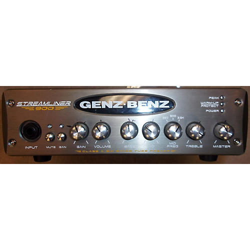 Genz Benz STM900 Streamliner 900W Bass Amp Head-thumbnail