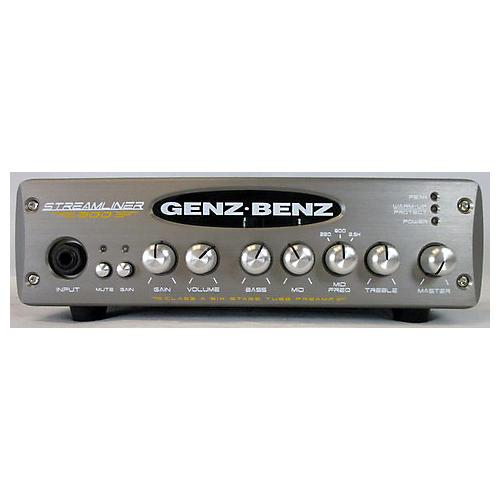 Genz Benz STM900 Streamliner 900W Bass Amp Head-thumbnail