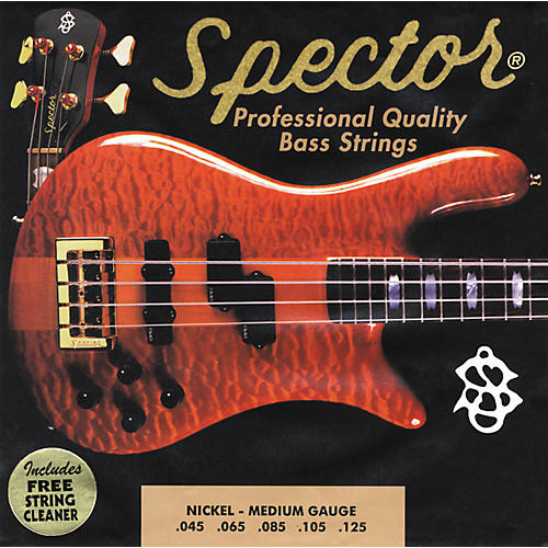 Spector STNI45-130 5-String Nickel Medium Bass Strings