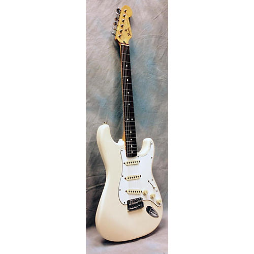 Fender STRATOCASTER White Solid Body Electric Guitar White-thumbnail