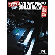 Hal Leonard STUFF! Good Piano Players Should Know (Book/CD)