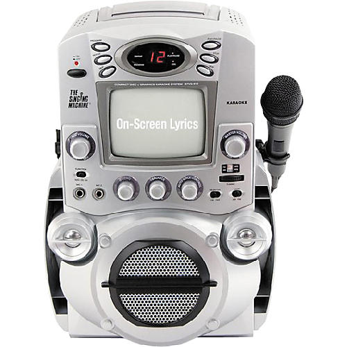The Singing Machine STVG-513 Top-Load CDG Karaoke System with 5.5