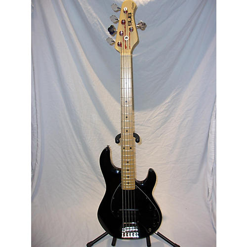 used sterling by music man sub ray 5 electric bass guitar black guitar center. Black Bedroom Furniture Sets. Home Design Ideas