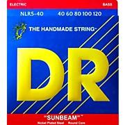 SUNBEAM  Nickel Plated 5-String Bass Strings Lite (40-120)