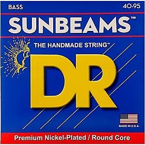 DR Strings SUNBEAM Nickel Plated Bass Strings Lite 40-95