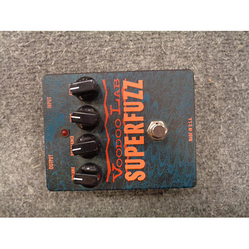 Voodoo Lab SUPERFUZZ Effect Pedal-thumbnail