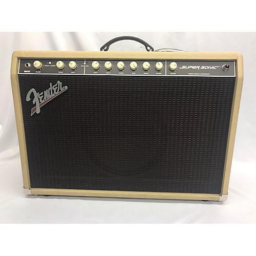 Fender SUPERSONIC 60 Tube Guitar Combo Amp