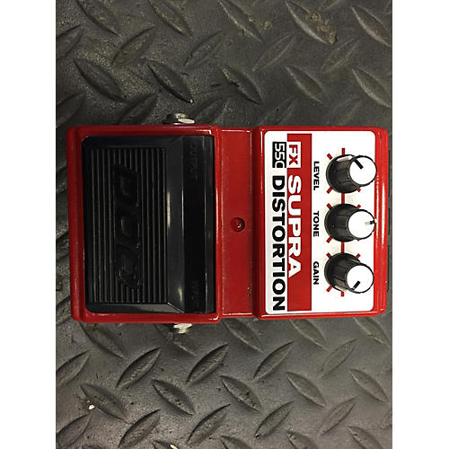 In Store Used SUPRA DISTORTION Effect Pedal-thumbnail