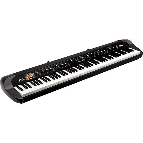 Korg SV-1 88-Key Stage Vintage Piano Black-thumbnail