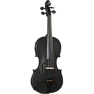 Cremona SV-130BK Series Sparkling Black Violin Outfit by Cremona