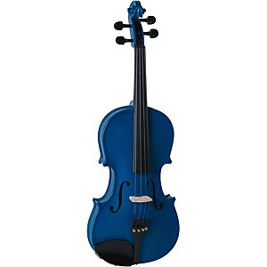 Cremona SV-130BU Series Sparkling Blue Violin Outfit by Cremona