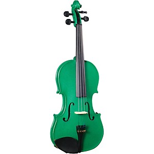 Cremona SV-130GN Series Sparkling Green Violin Outfit by Cremona