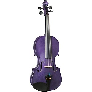 Cremona SV-130PP Series Sparkling Purple Violin Outfit by Cremona