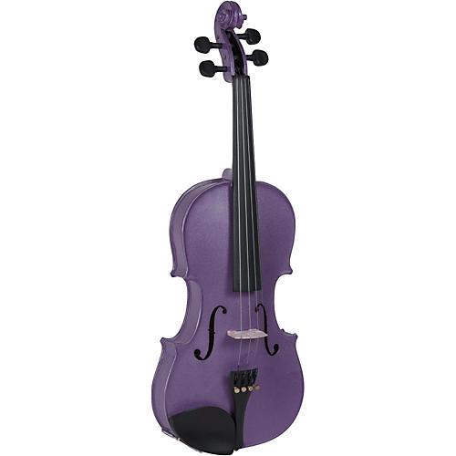 Cremona SV-130VL Series Sparkling Violet Violin Outfit