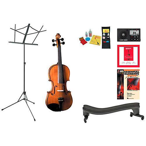 Cremona SV-175 Beginner Student 1/2 Violin Bundle