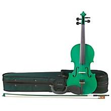 Cremona SV-75GN Premier Novice Series Sparkling Green Violin Outfit