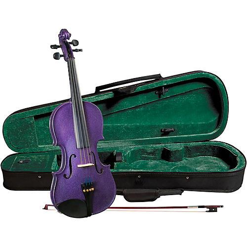 Cremona SV-75PP Premier Novice Series Sparkling Purple Violin Outfit-thumbnail