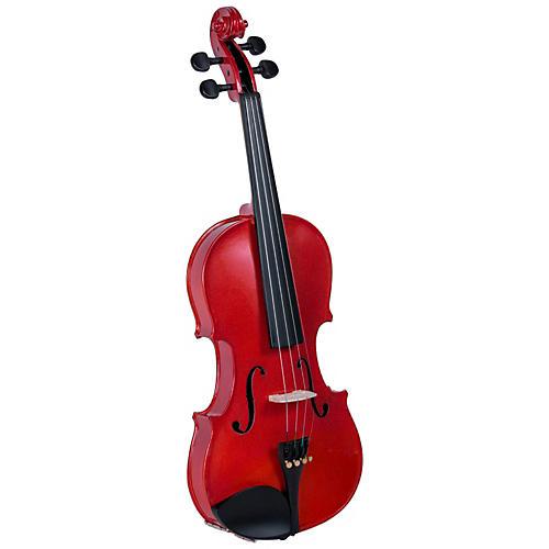 Cremona SV-75RD Premier Novice Series Sparkling Red Violin Outfit