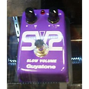 Guyatone SV2 Slow Volume Purple Pedal