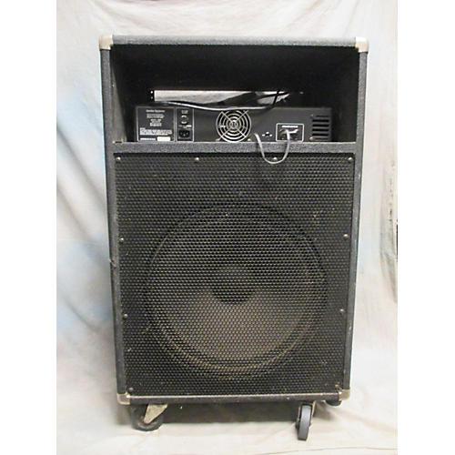 used ampeg svr 215 bass cabinet guitar center. Black Bedroom Furniture Sets. Home Design Ideas