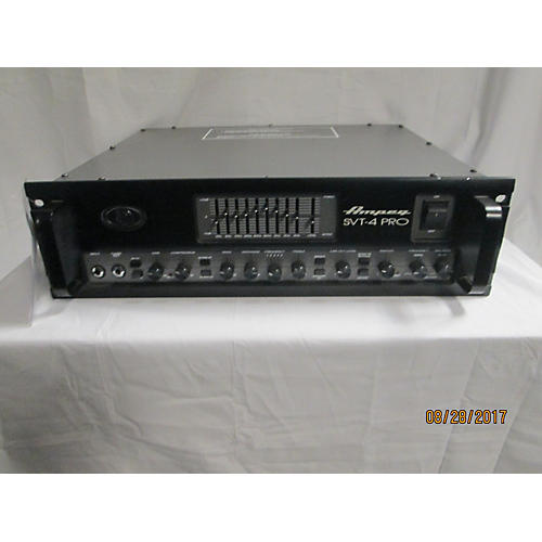 used ampeg svt4pro 1200w 1600w bass amp head guitar center. Black Bedroom Furniture Sets. Home Design Ideas