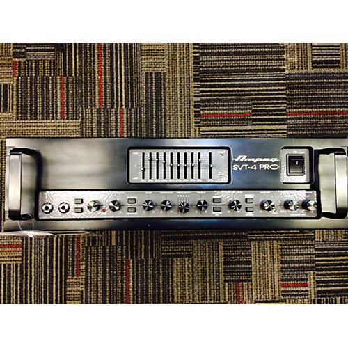 Ampeg SVT4PRO 1200W / 1600W Black Bass Amp Head