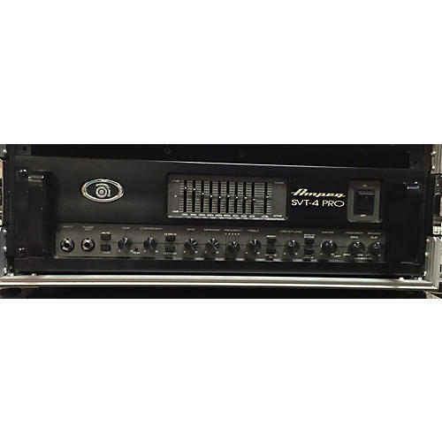 Ampeg SVT4PRO 1200W / 1600W Gray Bass Amp Head-thumbnail