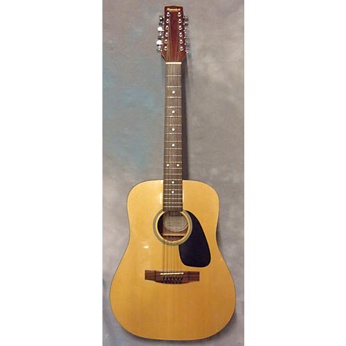 Samick SW115-12 12 String Acoustic Electric Guitar