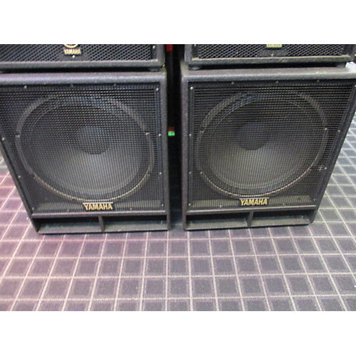 Yamaha SW1181VS PAIR Unpowered Subwoofer