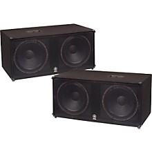 "Yamaha SW218V Dual 18"" Club Series V Subwoofer Pair"