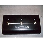 TC Helicon SWITCH-3 MIDI Foot Controller