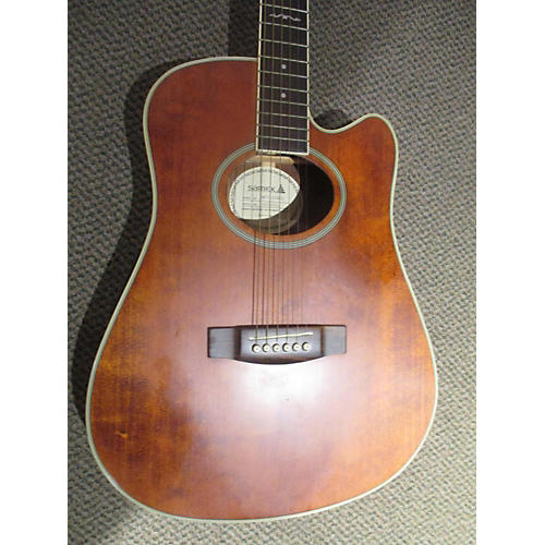 Samick SWT220SCE Acoustic Electric Guitar-thumbnail