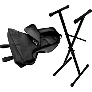 Peak Music Stands SX-10 Portable Keyboard Stand - Single Brace