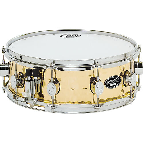 pdp by dw sx series hammered brass snare drum guitar center. Black Bedroom Furniture Sets. Home Design Ideas