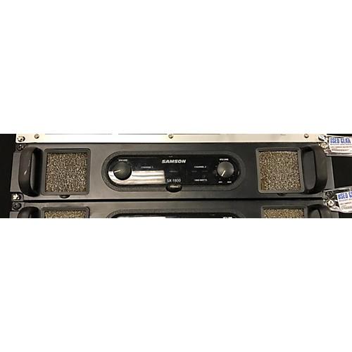 Samson SX1800 Power Amp