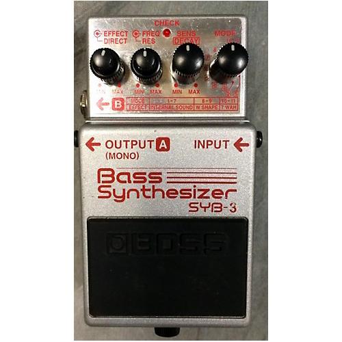 Boss SYB3 Bass Synth Bass Effect Pedal
