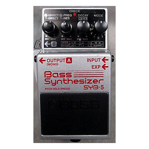 Boss SYB5 Bass Synth Bass Effect Pedal-thumbnail