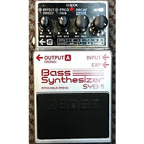 used boss syb5 bass synth bass effect pedal guitar center. Black Bedroom Furniture Sets. Home Design Ideas