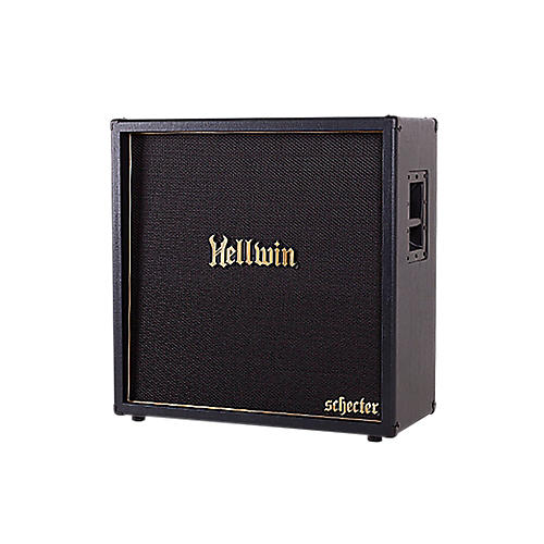 Schecter Guitar Research SYN412-ST Hellwin USA 4x12 Straight Guitar Speaker Cabinet Black