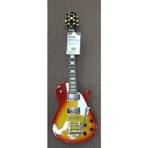 Gretsch Guitars SYNCHROMATIC G1554 JET CLUB PRO Solid Body Electric Guitar Heritage Cherry Sunburst