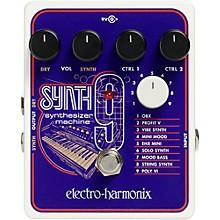 Electro-Harmonix SYNTH9 Synthesizer Machine Pedal Level 1