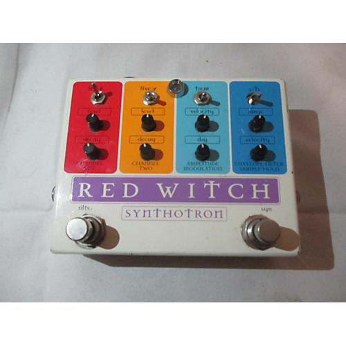 Red Witch SYNTHOTRON Effect Pedal-thumbnail