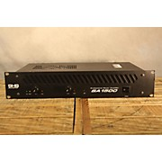 SHS Audio Sa 1500 Power Amp