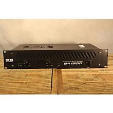 SHS Audio Sa 1500 Power Amp